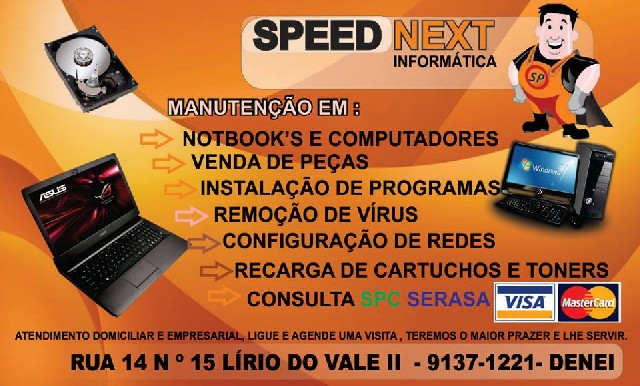 Foto 1 - Speed next informática